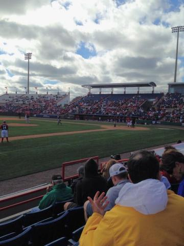 Nationals vs. Astros, March 7, 2014, Space Coast Stadium